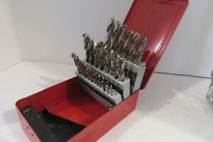 Mac Tools 29 pc Drill Bit Set In Metal Red Case Free Shipping Fb79