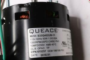 Qty 6 S33q402ub 11 Replacement Motor 1350rpm