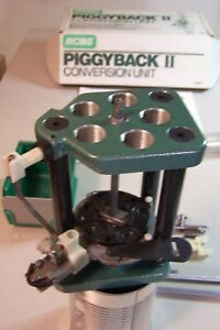 RCBS Piggyback 2 Progressive Reloading Press Conversion Unit