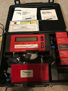 Snap On Mt2500 Deluxe Scanner With Hard Case Manuals Gm Jeep Ford Chrysler