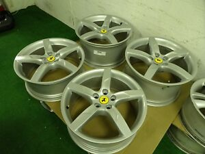 4 Ferrari California Oem Factory 19 Wheels Rims 301960 291342 Italy Speedline