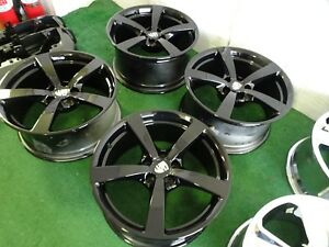 2018 Porsche Macan Oem Factory 18 Wheels Rims 5x112 Gloss Black 18x8 18x9