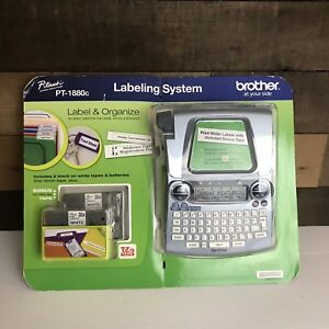 Brother P touch Pt 1880c Labeling System New Sealed Missing Batteries