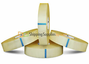 12 Rolls Clear Packaging Hotmelt Machine Adhesive Tapes 2 0 Mil 3 X 1500 Yards