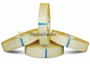 28 Rolls 3 X 1500 Yards Clear Hotmelt Adhesive Machine Packaging Tapes 2 0 Mil