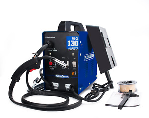 Mig130 Interver Welding Welder Machine Efficient Metal Work 110v Auto Wire Feed