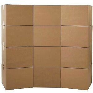 Tv Wardrobe Moving Boxes Box Set Large Packing Office Storage Shipping 12 Pack