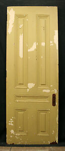 2 Avail 30 X82 X1 75 Antique Vintage Victorian Cherry Solid Wood Wooden Doors