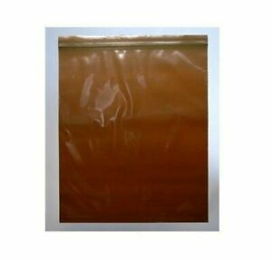Amber Seal Top Re closable Bags 8 X 8 3 Mil 1000 Pieces