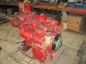 Cat Diesel Engine 3208 121hp 90kw 1800rpm Fm uli 3208dina 337 Hours Used