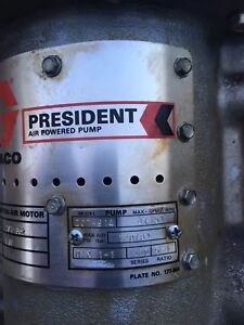 Graco President Air Powered Pump