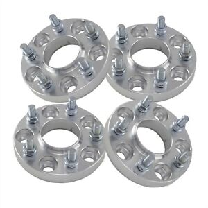 4 32mm Hubcentric Wheel Spacers 5x114 3 For Honda Accord Civic Acura Tl Rl