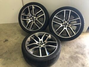 2015 2017 Ford Mustang Gt Premium Wheel Rim And Tire 20x9 Oem
