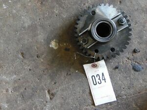 John Deere 1010 Tractor Transmission Input Gear Dual Bearing Tag 034