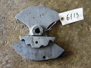 International Harvester 1066 Tractor Shifter Guide Tag 6113
