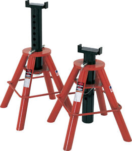 Norcoindustries 81210 10 Ton Pin Jack Stands 28 To 47