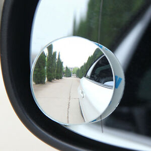 360 Degree Wide Angle Lens Car Blind Spot Rearview Mirror Small Round Mirror