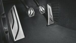 Bmw 3 Series 2012 2015 M Performance Stainless Steel Pedal Covers Manual
