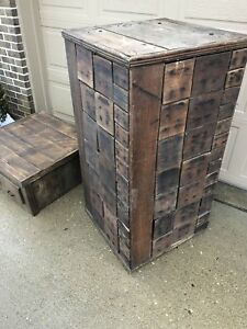 Antique General Store Hardware Cabinet 100 Drawers