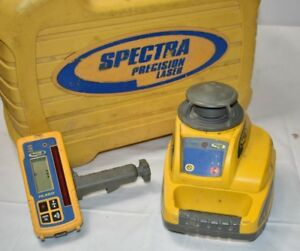 Spectra Precision Ll300 Laser Automatic Self Leveling Level Hl450 Receiver