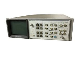 Hp Agilent 85662a Frequency Spectrum Analyzer Display If Display Section Screen