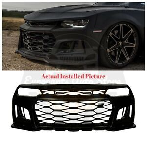 Ikonmotorsports Zl1 6th Gen Style Front Bumper Conversion For 14 15 Chevy Camaro