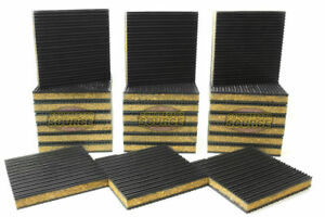 24 Pack Anti Vibration Pad Isolation Dampener Industrial Heavy Duty 6x6x7 8 Cork