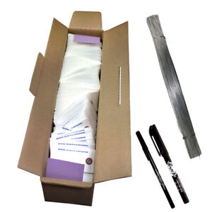 1000 Pc Box Blank White Tyvek Tags 3 3 4 X 1 7 8 Inventory Auto Parts Labels
