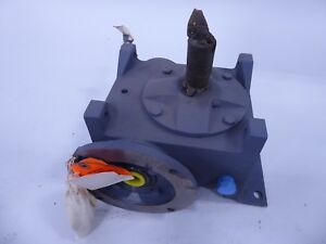 Grant 258 svf Worm Gear Speed Reducer 10 1 Ratio Right Angle