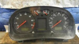 00 Vw Jetta Speedometer Cluster Cluster 1 8l Turbo Gas Mph At 283434