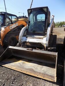 2003 Bobcat T190 Tracked Skid Steer Erops Low Hours Ac Heat
