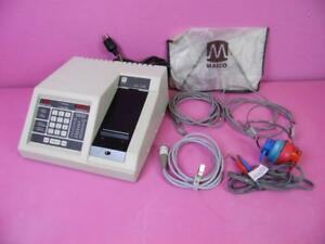 Maico Ma 728 Portable Audiometer Hearing Tester Hearing