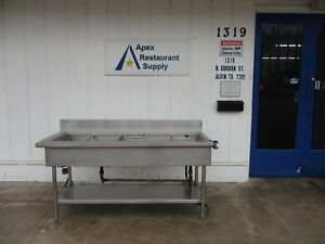 Stainless Steel 5 Well Ice Display Table cold Merchandiser 3680