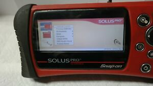 Snap on Solus Pro Diagnostic Scanner Domestic Asain Europeon 10 4 Software
