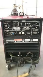 Lincoln Ideal Arc 250 250 Ac Dc Tig And Stick Welder