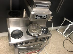 Bunn Rt 12 Cup Automatic Coffee Brewer With 5 Warmers