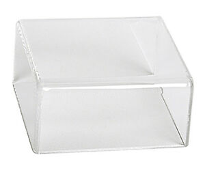 Box Case Low Profile Acrylic Box Display Cover For Collectibles