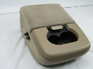 97 98 99 00 01 02 03 Ford F150 Center Console Dual Cup Holder Armrest Arm Rest