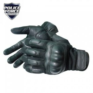 New Genuine Police Force Nomex Hard Knuckle Tactical Glove X Large Comfortable