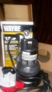 Wayne Utility Pump 1 5 Hp 1700 Gallons Per Hour brand New