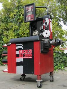 Coats Ibs 2000 Tire Wheel Balancer Direct Drive System 220v 3 Phase Changer