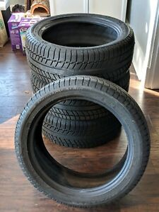 4 Michelin Primacy Alpin Pa3 225 45r 17 91h Snow Tires