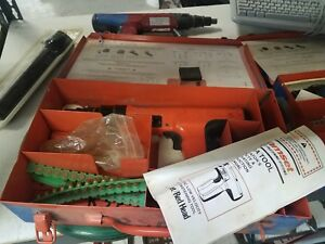 Ramset Cobra Plus 27 Fastening Tools With Case And Lots Of Extras See Pictures