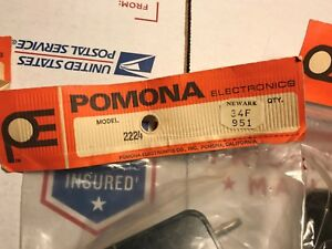 Lot Of 3 Pomona Electronics Model 2224 Plastic Enclosure Project Box s 52