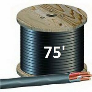 75 Ft 8 3 Nm b 4 Wires Total Non metallic Cable Sunlight Resistant Free Shipping