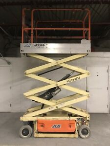 2012 Jlg 1930es 19 Electric Scissor Lift Aerial Manlift Platform Excellent 100