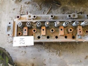 Massey Ferguson 40 Tractor Engine Head W Valves Tag 274