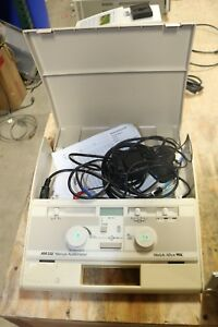 Welch Allyn Am232 Manual Audiometer Am 232 Working