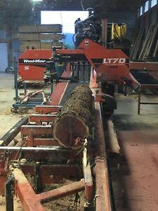 Wood mizer Super 70 Wide Sawmill Low Hours 730 Hours