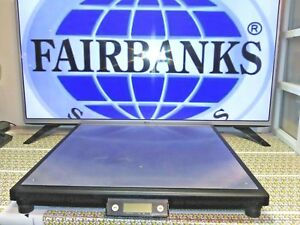 Fairbanks Scales 31081 Ultegra Max R9050 Series Flat Top Parcel Shipping Scale